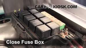 blown fuse check 1991 1995 plymouth grand voyager 1993 plymouth 6 replace cover secure the cover and test component