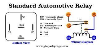 car ac relay wiring car automotive wiring diagrams standard automotive relay wiring x400