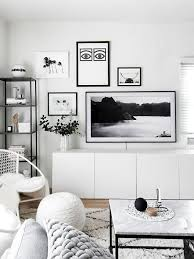 Television Frame Design Gallery Wall Update A Tv That Matches Our Decor Homey Oh My