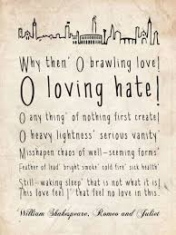 Typography Romeo And Juliet Quote Things I Want For My Cool Quotes From Romeo And Juliet