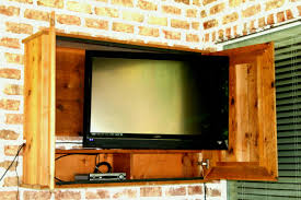 incredible outdoor tv cabinets regarding cabinet plans furniture ideas design popular inside here are our for