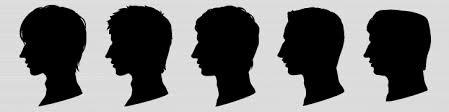商用フリー男性横顔シルエット素材アクトゼロsmmやsemを中心とした