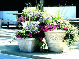 patio planters ideas delightful containers flower pots interior container planting uk box planter new with best