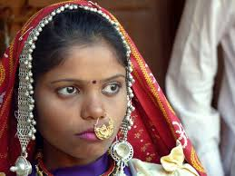 Rajasthan village women boobs photos
