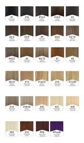 Remy Colour Chart 37 You Will Love Hair Extension Colours Chart