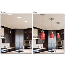 recessed lighting to pendant. Fresh Recessed Lighting To Pendant Adapter 84 In Light Shades Lowes With