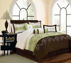 green queen comforter set brilliant 33 best green and brown bedding images on for sage