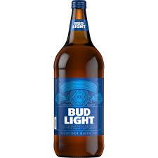 Bud Light Glass Light Up Bud Light Beer 40 Fl Oz Bottle Walmart Com