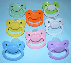 Adult Pacifiers Size 6 Blue