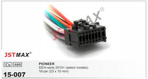 online buy whole receiver wire harness from receiver jstmax 15 007 top quality car iso harness for pioneer 2200 stereo radio wire adapter