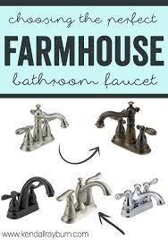 farmhouse bathroom faucet. Choosing The Perfect Bathroom Faucet With @deltafaucet! #ad Farmhouse M