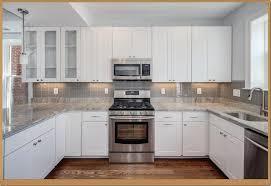 White Kitchen Cabinets With Granite Countertops Photos Small White