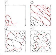 Zentangle Patterns Step By Step Custom Design