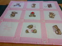 Teddy Bear quilt - News - Free machine embroidery designs ... & teddy bear big quilt machine embroidery Adamdwight.com