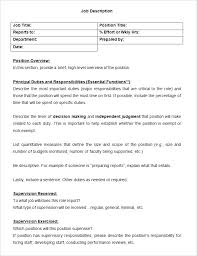 Cashier Duties For Resume Job Description Template With Directions Cashier Job
