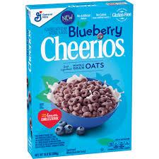 box of blueberry cheerios