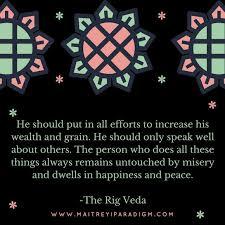 Rig Quote Gorgeous Rig Veda Quote Maitreyi Paradigm