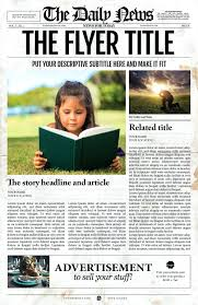 Creative Newspaper Template Free Newspaper Adobe Template Photoshop Meaning Prinsesa Co