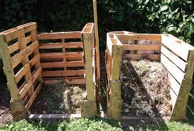 diy pallet compost bins