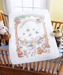 $23.85-$37.99 Baby Baby: Stamped Cross Stitch: Crib Cover. The ... & $23.85-$37.99 Baby Baby: Stamped Cross Stitch: Crib Cover. The sweet  sentiments, soft colors, and delicate designs of Bucilla's Baby Collection  are… Adamdwight.com