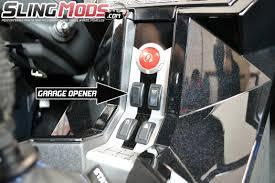 Polaris Slingshot Garage Door Opener by Mo-Door