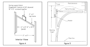 how to frame a garage door interior view of a garage door frame replacing wood frame