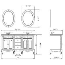 61 morena double sink vanity bathgems combest double sink vanity width gallery best image 3d home50