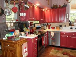 Red Kitchen Paint Red Kitchen Cabinet Red And Black Kitchen Designs Of Nifty Red