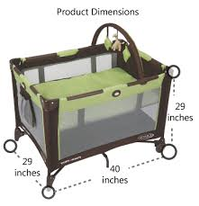 graco bedroom bassinet portable crib. graco pack n play on the go travel playard product dimensions bedroom bassinet portable crib l
