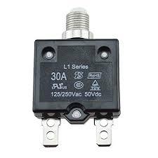 thermal fuse kit the best amazon price in savemoney es 30a circuit breaker waterproof push button resettable thermal fuse circuit breaker panel mount black