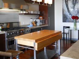 Mobile Kitchen Island With Seating Awesome Portable Islands HGTV