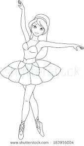 Colouring Pages Ballerina Mariage Isa Max Info