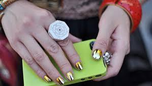 mirror effect nail polish. beauty header image article main layla mirror effect nail polish