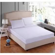 3 Piece Set King Size Plain White Bedsheet Lazada Ph