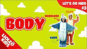 Bé học tiếng Anh về bộ phận cơ thể người |[Trọn bộ 20 chủ đề từ vựng sách  Let's go] [Lioleo Kids] - YouTube