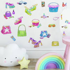 girly girl wall stickers l and
