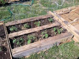 Re Purposed Pallets Into Raised Bed Gardens My Meandering Thoughts