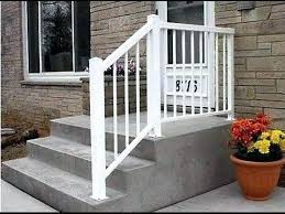 Exterior Step Railing Outside Stair Railings Home Design Ideas And ...