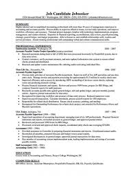 It Resume Objective Resume For Accounts Payable Manager It Resume