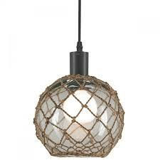 coastal decor lighting. Seaglass Globe Float Pendant W/ Natural Abaca Weave Overlay (LG). Glass GlobeCoastal DecorCoastal LightingHome Coastal Decor Lighting D