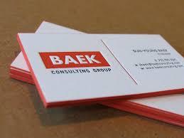 Letter Press Business Card Letterpress Business Cards Calling Cards Custom Design Color Edges Cranes Lettra 600gsm