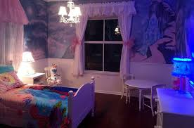 Purple Themed Bedroom Gorgeous Girls Bedroom Decorating Ideas With Purple Wall Paint