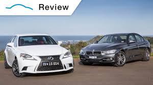 BMW 3 Series 2013 bmw 320i review : 2013 Lexus IS 250 F Sport v 2013 BMW 320i Sport - YouTube
