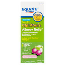 Equate Childrens Allergy Relief Cetirizine Hcl Oral