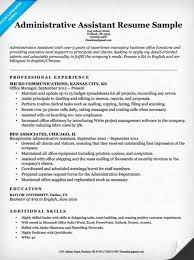 Best Resume For Administrative Assistant Best Of Administrative Assistant Resume Example