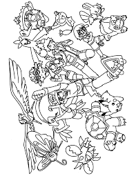 Kleurplaat Tv Series Kleurplaat Pokemon Advanced Animaatjesnl