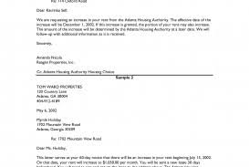 Sample Of Rent Increase Letter 032 Example Of Rent Increase Letter Examples Letters To