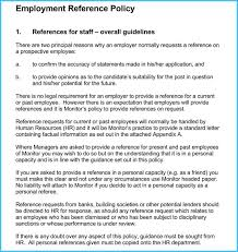 Employee Reference Samples Reference Letters For Human Resource 15 Samples With