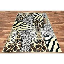 black and gold rug cream and gold rug black and cream rug animal print patchwork rug