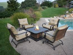 top outdoor furniture with fire pit patio r59 patio